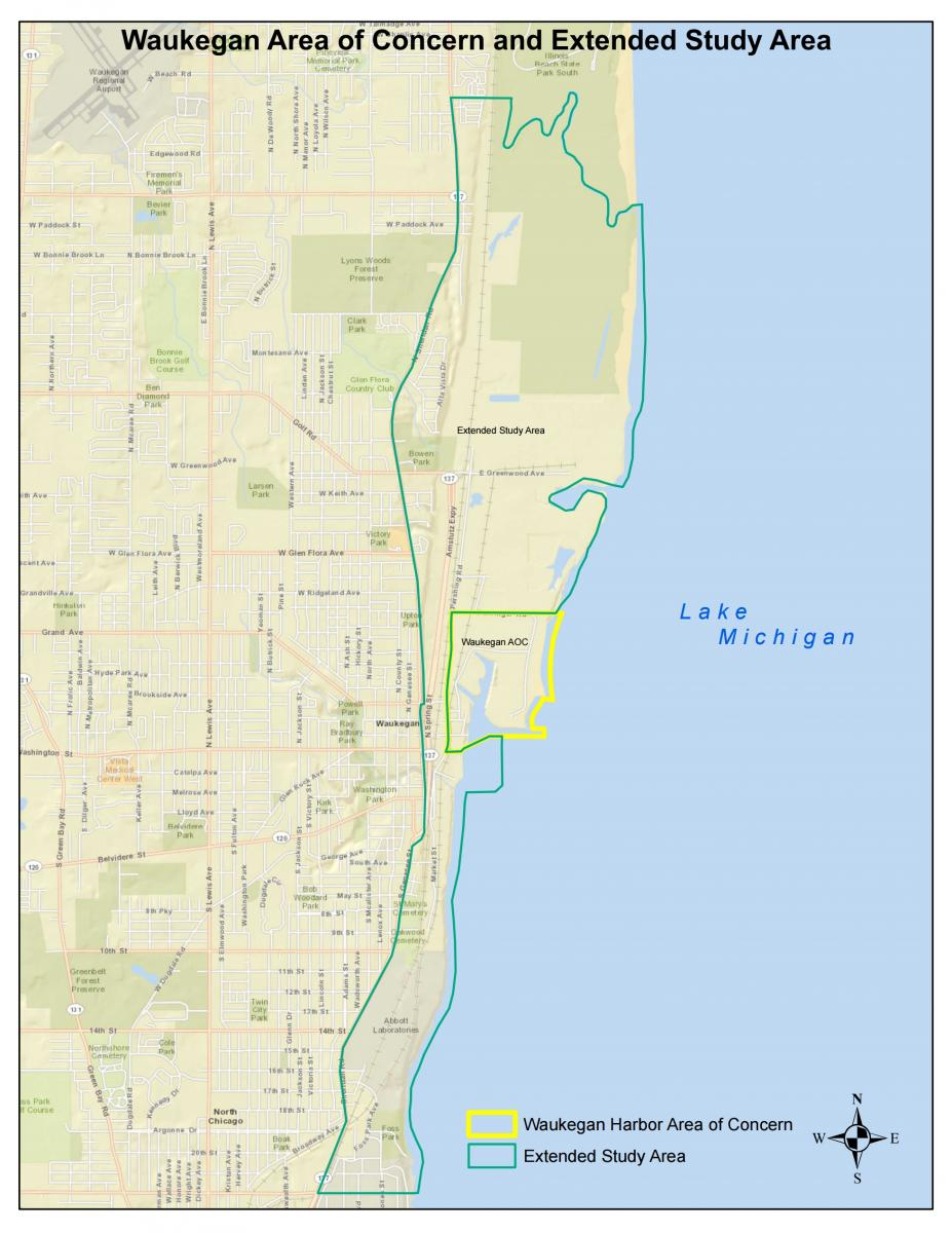 Maps and Diagrams Waukegan Harbor Citizens Advisory Group
