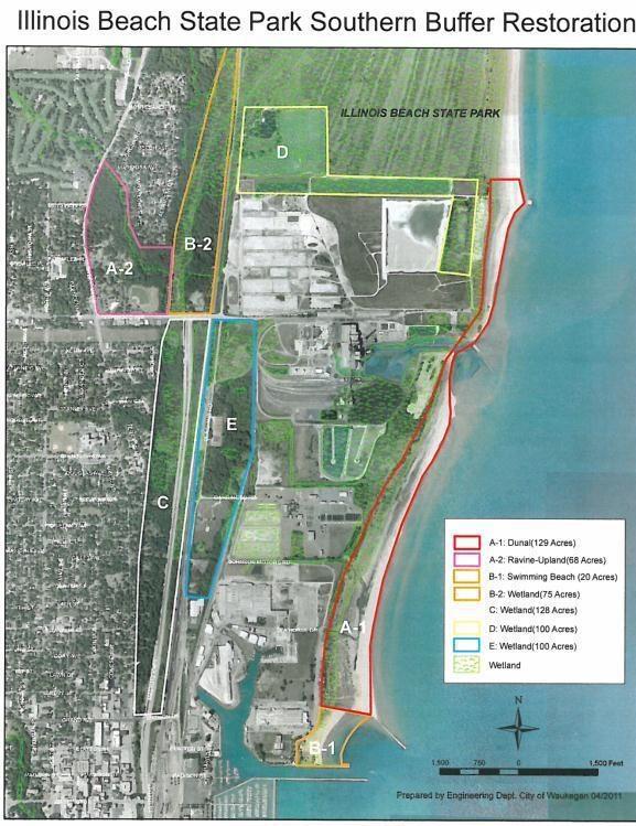 Southern Buffer Restoration - GRLI Grant Project Area