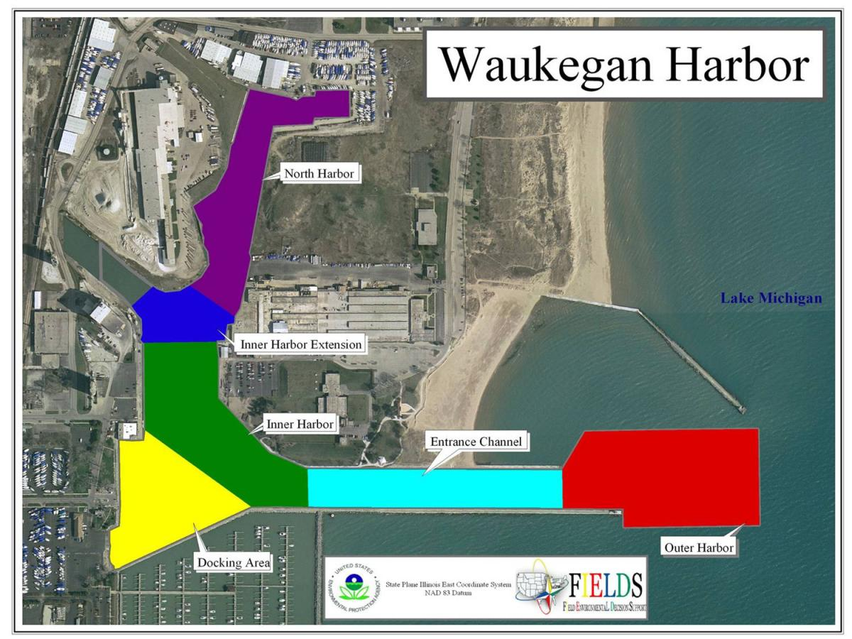 Waukegan Harbor - including sub-sections