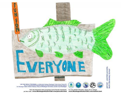 green Fish-
